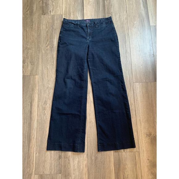 NYDJ Dark Wash Jeans Trousers 10